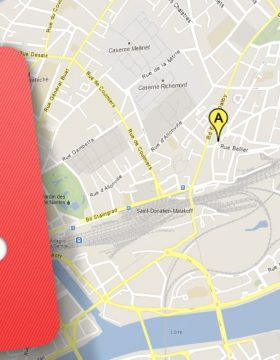 Une carte google map avec une metabox WordPress