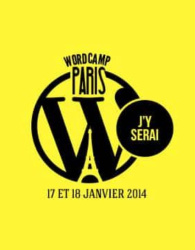 WordCamp paris 2014 - j'y serai