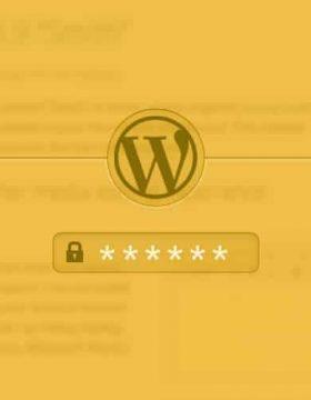 espace prive wordpress
